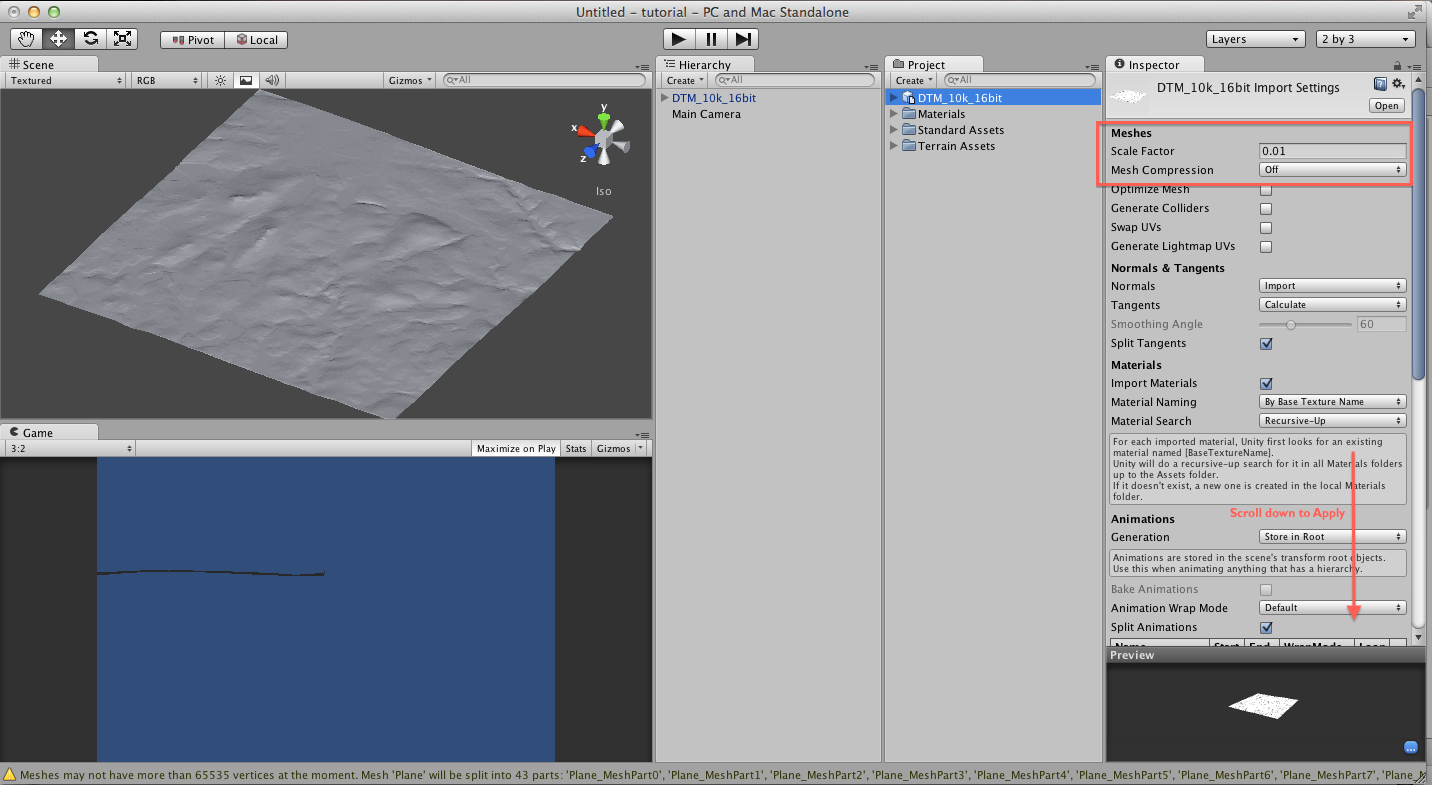 Embodied GIS HowTo: Part 1 - Loading Archaeological Landscapes into Unity3D (via Blender