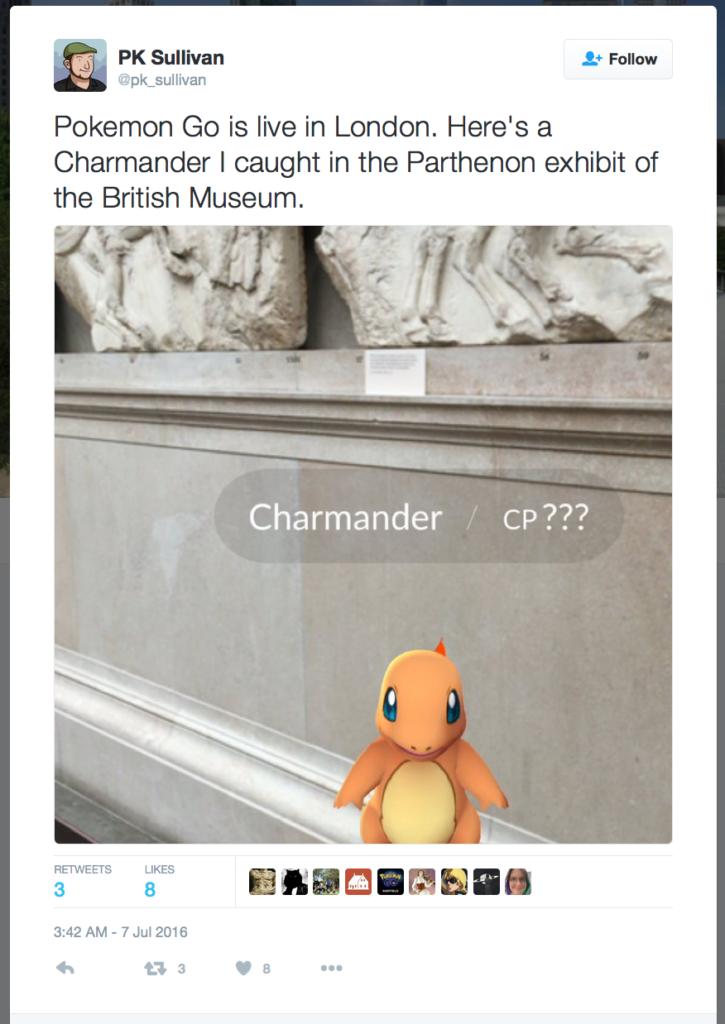 Charmanders in the BM